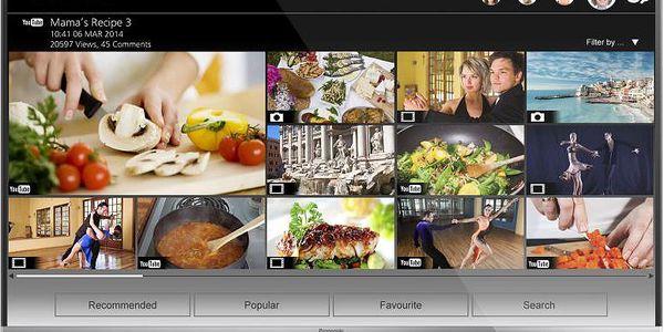 Chytrá 3D LED televize Panasonic VIERA s detailním Full HD rozlišením a Smart TV funkcemi
