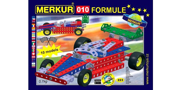 Merkur Stavebnice 010 Formule 10 modelů 223ks