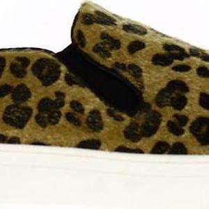 Dámské boty s leopardím vzorem Shoes and the City