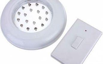 Stropní bateriové LED světlo s dálkovým ovládáním
