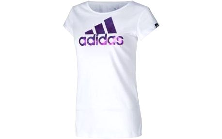 Dámské sportovní tričko FOIL LOGO TEE bílá