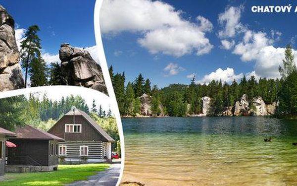 3–6 dní relaxu v přírodě nedaleko Adršpachu