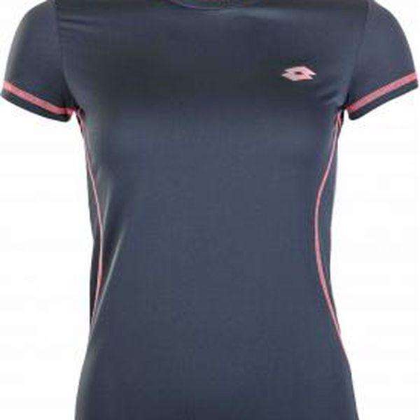 Dámské sportovní tričko Lotto T-SHIRT W RIDE šedá M