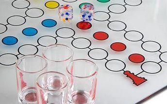 Alkoholové člověče nezlob se - zahrajte si klasickou hru v netradičním podání!