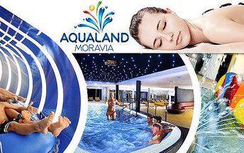 Aqualand Moravia – celodenní vstupy s možností menu
