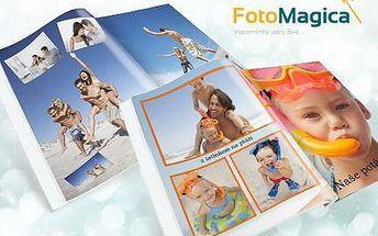Nejlevnější fotoknihy A4 nebo čtverec s celo-potisknutelnými deskami