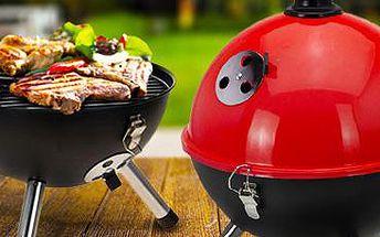 Stylový přenosný BBQ gril: Na výběr z 5 barevných designů!
