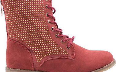 Semišová kotníková obuv 67537WI