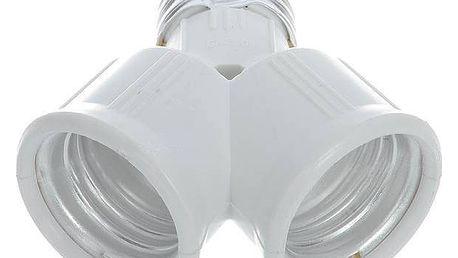 Rozdvojka pro žárovky s paticí E27