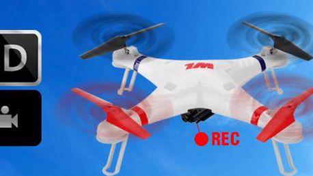 RC kvadrokoptéra Galaxy s HD kamerou: skvělá hračka pro kluky i tatínky!