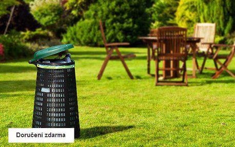 Zahradní stojan na odpadkové pytle