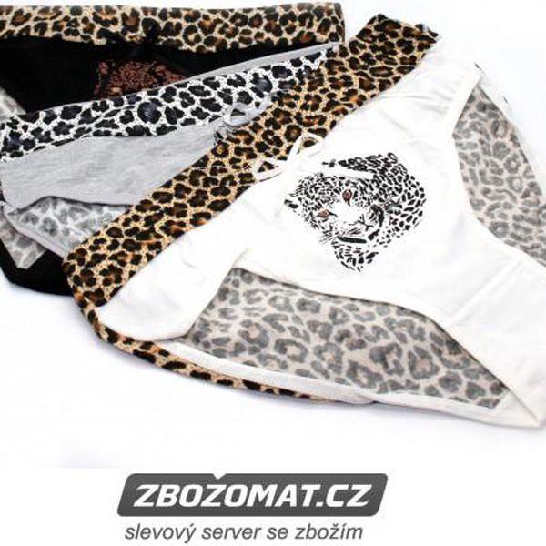 Dámské kalhotky Leopard!