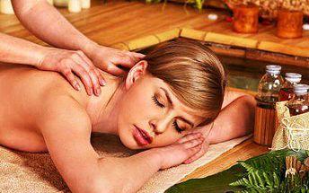 Tradiční thajská hodinová masáž