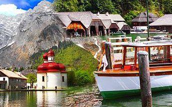 Berchtesgaden, Orlí hnízdo, jezero Königsee a Solné doly. Termín: 16. 5. 2015.
