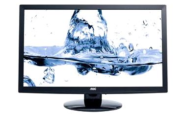 """Monitor AOC AKCE LCD E2495SH 24""""wide/1920x1080/2ms/20mil:1/2xHDMI/LED/repro"""