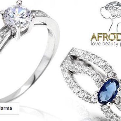 Exkluzivní dámské stříbrné šperky Afrodite
