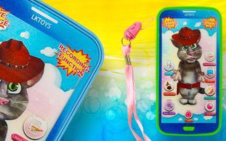 Smartphone pro děti: hraje písničky, vypráví anglické pohádky a umí i nahrávat!