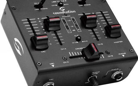 Dvoukanálový DJ mixpult Soundsation DJBOX