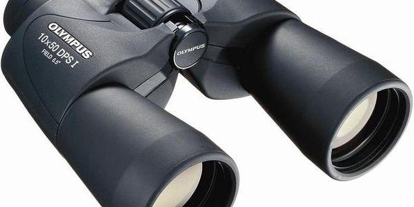 Dostupný výkonný dalekohled Olympus 10x50 DPS I s o 30 % širším zorným polem