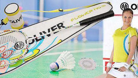 Rekreační badmintonový set Oliver včetně obalu