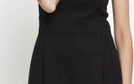 Dámské šaty z prošívaného úpletu Simple