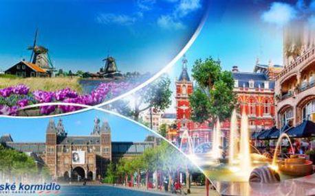 AMSTERDAM - víkendový autobusový POZNÁVACÍ ZÁJEZD včetně PRŮVODCE! Na výběr termíny duben až říjen.