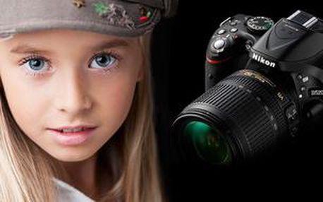 Ovládání digitální zrcadlovky + základy focení portrétu 29.3.