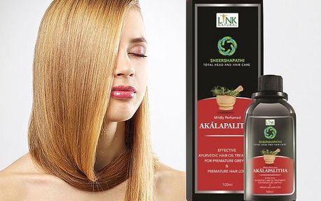 Ájurvédský vlasový olej Akálapalitha - zdravé vlasy, krásné vlasy!