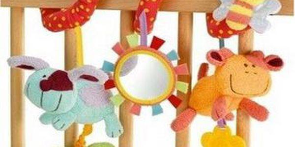 Dětská plyšová hračka na kočárek a postýlku!