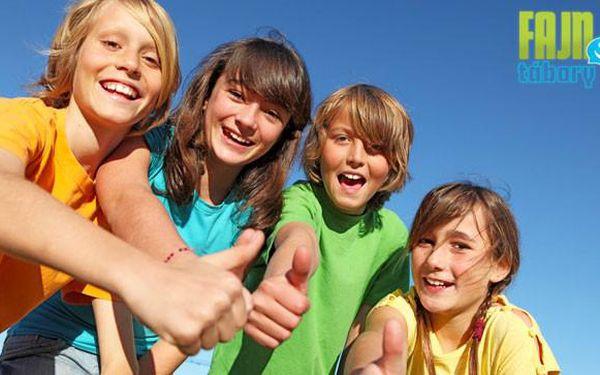 Letní dětské tábory od 995 Kč