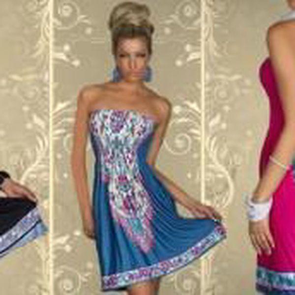 Dámské šaty s originálním vzorem