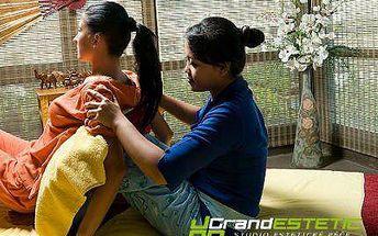 60 nebo 90minutová královská thajská olejová masáž