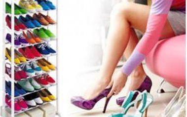 Nemáte dostatek místa k uložení bot? S tímto botníkem pro 30 párů bot budete mít boty pro jednou uklizeny.