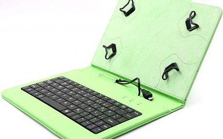 """C-TECH PROTECT pouzdro s klávesnicí 7""""-7,85"""" NUTKC-01, zelené"""