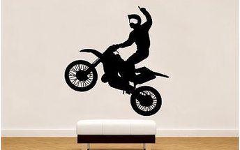 Samolepka Motocross. Poštovné zdarma!!!