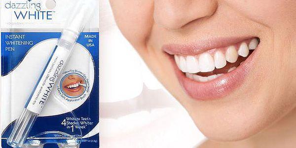 Bělicí pero na zuby Dazzling White odstraňující skvrny už po 1 týdnu
