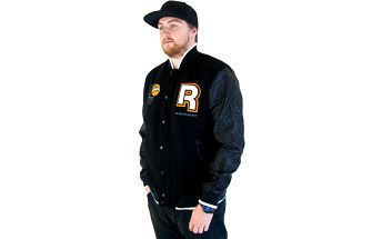 Pánská bunda Reebok Classic Pump College Black černá / oranžová