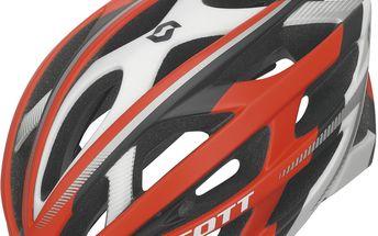 Cyklistická helma Wit-R red/white matt, červená, L