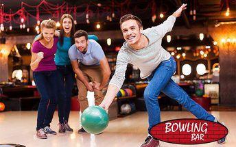Hodina bowlingu na dráze pro až 8 osob