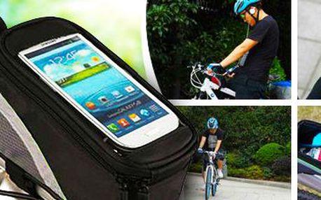 Voděodolné cyklopouzdro na telefon, klíče, brýle či peníze!
