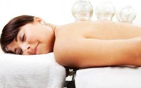 Hodinová sportovní a relexační masáž s baňkováním