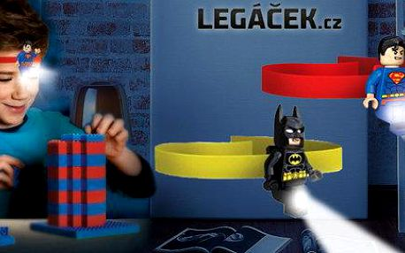Čelovka Lego Superman nebo Batman