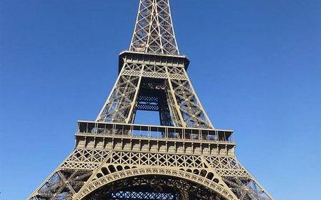 Nenáročný víkend v Paříži, Francie, autobusem, snídaně v ceně