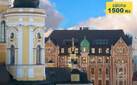 Rusko, doprava letecky, snídaně, ubytování v 3* hotelu na 3 dny