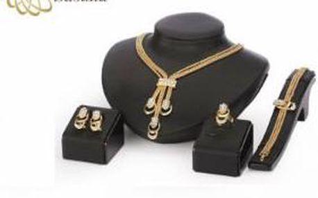 Pozlacený set šperků Victoria de Bastilla, včetně doručení