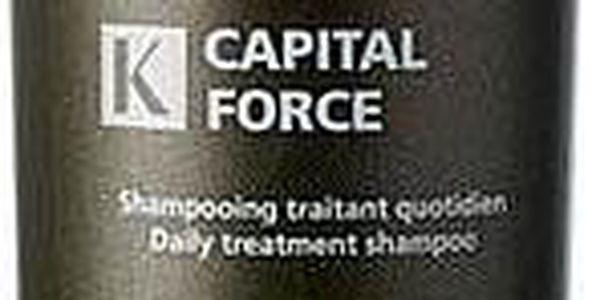 Každodenní šampon pro muže pro slábnoucí a řídnoucí vlasy KÉRASTASE - Homme - Bain Capital Force Densifying šampon (1000ml)