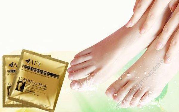 Exfoliační ponožky pro jemnou pokožku