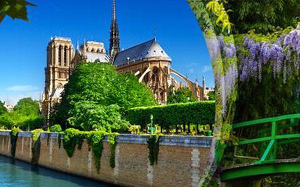 Prodloužený sváteční víkend: Paříž a Monetovy zahrady s ubytováním pro 1.