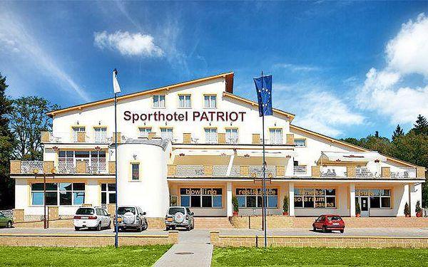3denní romantický pobyt s privátním wellness pro dva ve Sporthotelu Patriot****