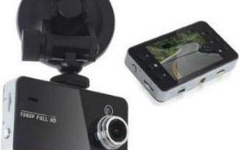 FULL HD kamera do auta s nočním viděním a detekcí pohybu